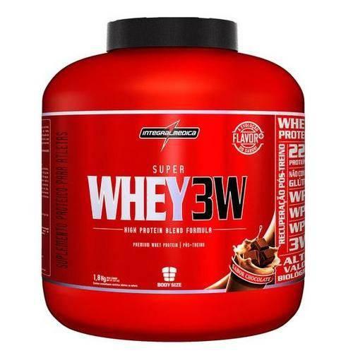 Super Whey 3w 1,8kg Chocolate - Integralmédica