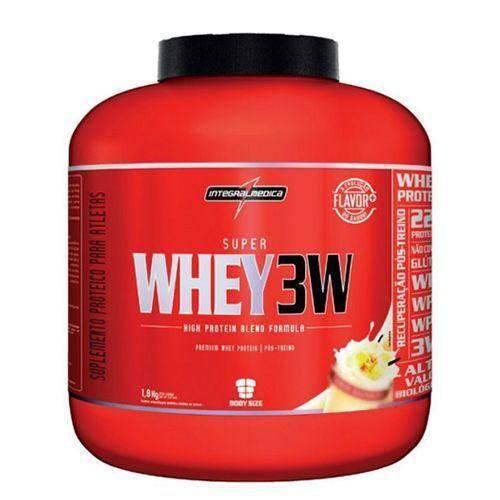 Super Whey 3w - 1800g Baunilha - Integralmédica