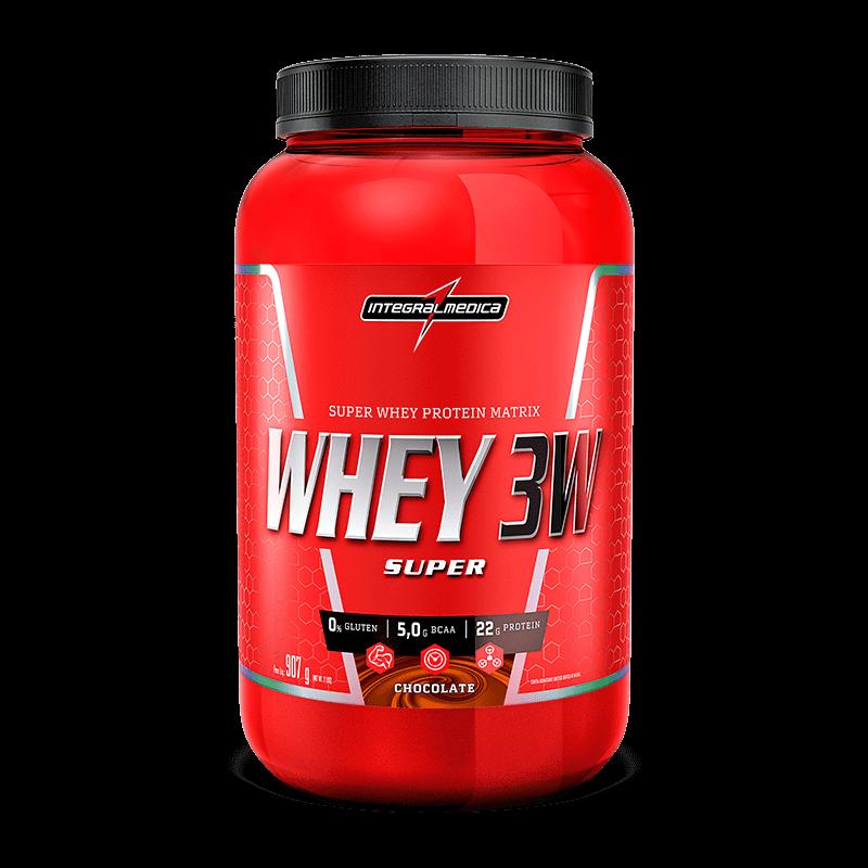 Super Whey 3W (907g) IntegralMedica-Chocolate