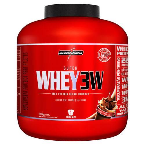 Super Whey 3w Body Size - 1,8kg - Integralmédica