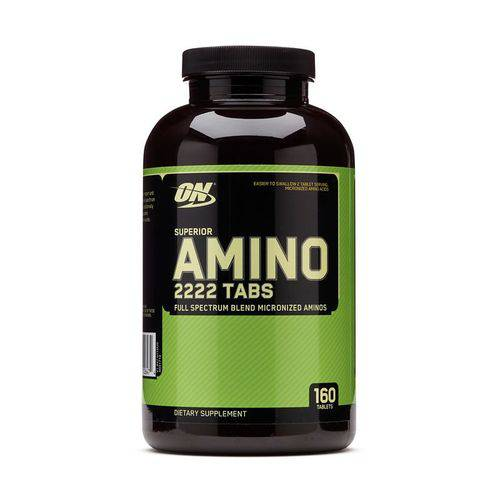 Superior Amino 2222 Tabs Optimum Nutrition - 160 Tabletes
