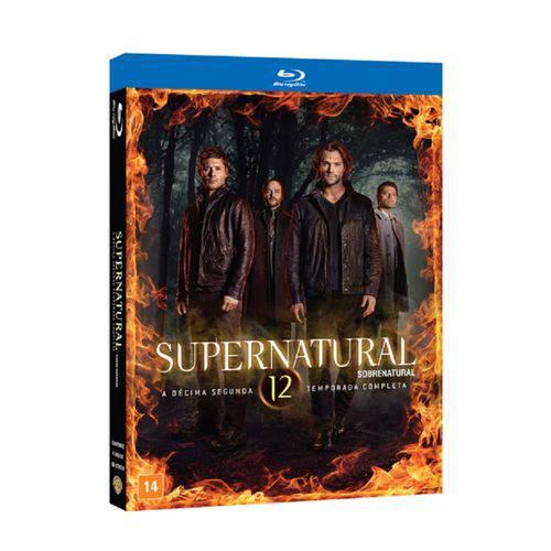 Supernatural - 12ª Temporada Completa - Blu-ray