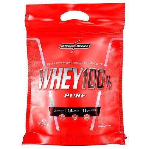 Superwhey 100% Pure Refil 907g Baunilha - IntegralMedica