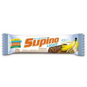Supino Light Banana e Fibras 1 Unidade