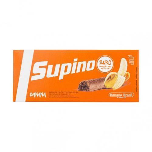 Supino Zero Banana e Chocolate ao Leite 24g X 3 - Banana Brasil