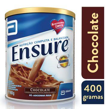 Suplemento Abbott Adulto Ensure Pó Sabor Chocolate 400g