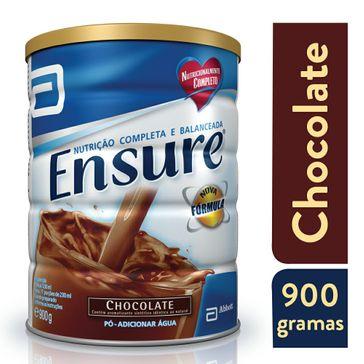 Suplemento Abbott Adulto Ensure Pó Sabor Chocolate 900g