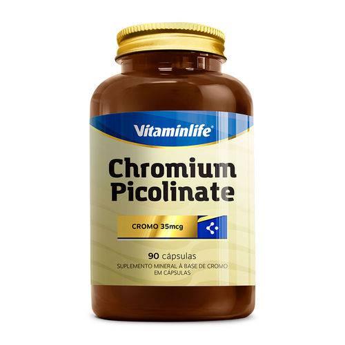 Suplemento Chromium Picolinate - 100% Idr - Vitamin Life