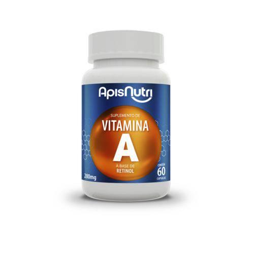 Suplemento de Vitamina a 60 Capsulas Apisnutri