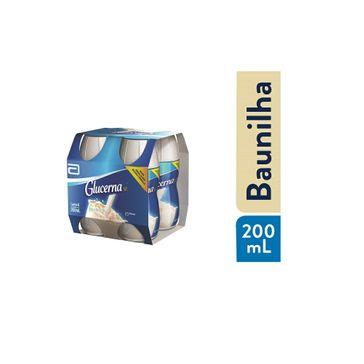 Suplemento Nutricional Glucerna Sênior Sabor Baunilha 200ml Pack com 4