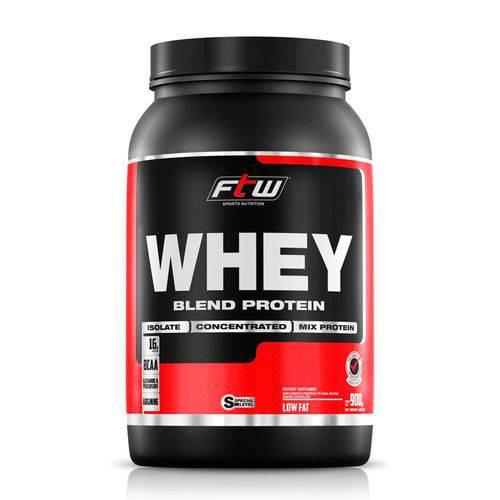 Suplemento Whey Protein 40% Blend Ftw Sabor Morango - 900g