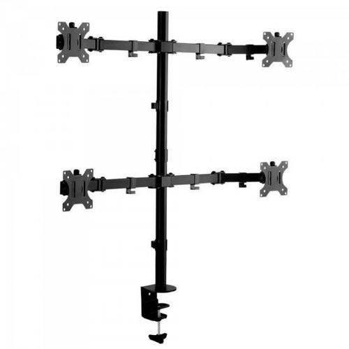 Suporte Articulado P/ 4 Monitores Sbrm740 Preto Brasforma