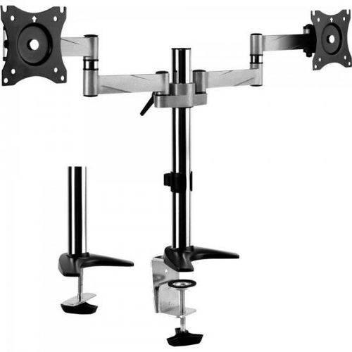Suporte Articulado P/ 2 Monitores Sbrm723 Preto Brasforma