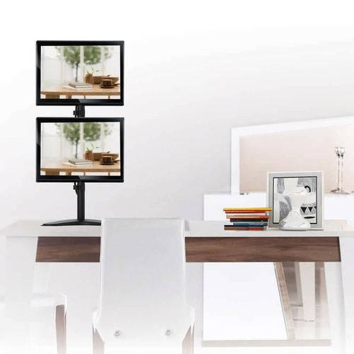 """Suporte Articulado para 2 Monitores Led e LCD de 13"""" a 32"""" - SBRM722"""