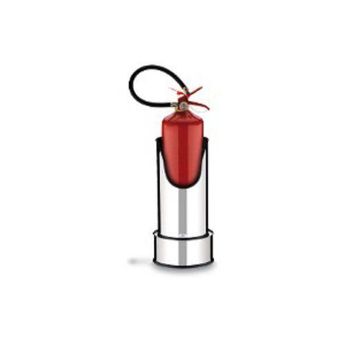 Suporte com Base para Extintor de Incêndio Ø 25 X 49,7 Cm Brinox