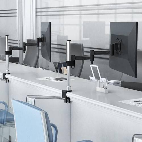 """Suporte de Mesa para Monitor de Led e LCD 13"""" a 27"""" - Sbrm752"""