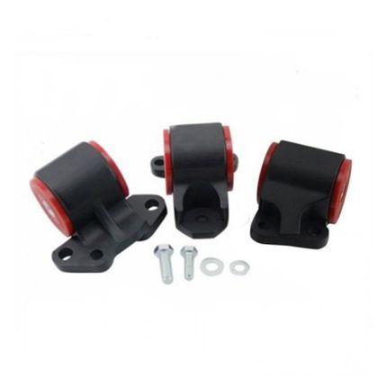Suporte de Motor em Alumínio com Buchas de Poliuretano para Honda Civic EG/EK (suporte Esquerdo 2 Parafusos)
