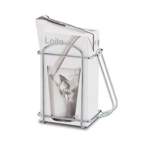 Suporte para Embalagem de 1 Litro Cromado - Brinox