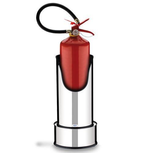 Suporte para Extintor de Incêndio Decorline em Aço Inox com Base - Brinox