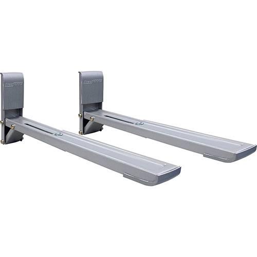 Suporte para Forno Micro-ondas Brasforma SBR 3.7 Ajustável Prata