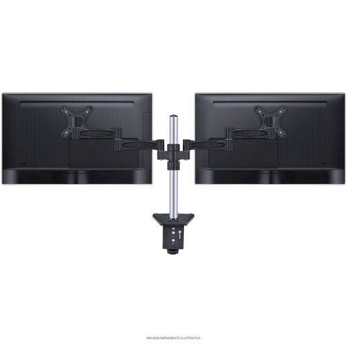 Suporte para 2 Monitores 13 a 32 Polegadas V06S2M13-32C Preto - Vinik