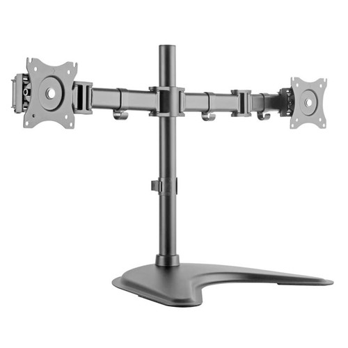 "Suporte para 2 Monitores de 13"" a 27"" Vesa 75×75 - 100×100 SBRM 720"