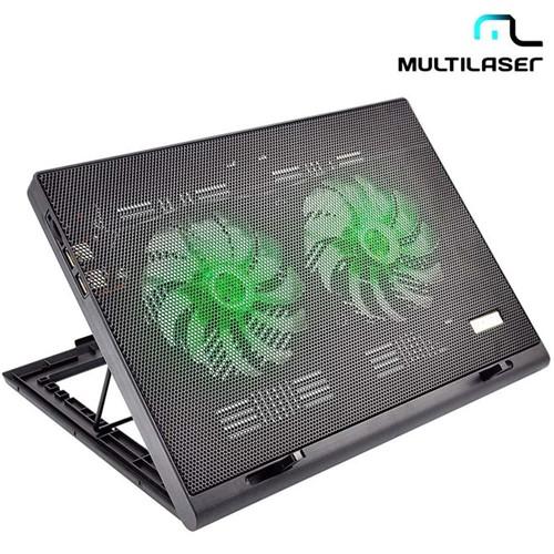 Suporte para Notebook Power Cooler Gamer Led AC267 – Multilaser