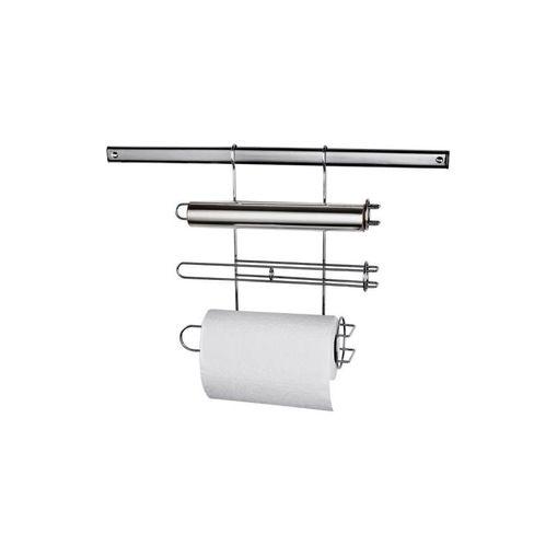 Suporte para Rolo de Papel Toalha, Alumínio e PVC Euro ORG3237