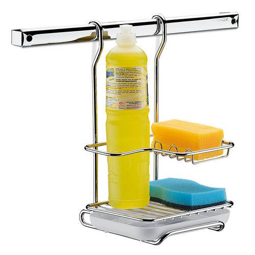 Suporte para Sabao Detergente e Esponja