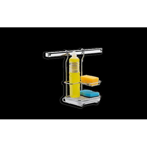 Suporte para Sabão em Pó, Detergente e Esponja 17,5 X 17 X 19 Cm - Top Pratic