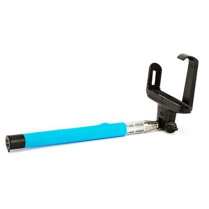 Suporte para Selfie, Monopod Wireless, Iphone, Galaxy - Z07-5, Azul