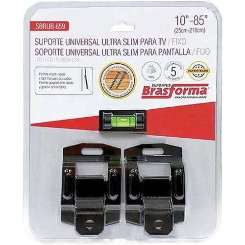 Suporte Universal ULTRA SLIM para TV/FIXO 10-85 - SBRUB859