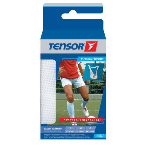 Suspensorio Escrotal Tensor Tam G Cor Branco Ref 3981