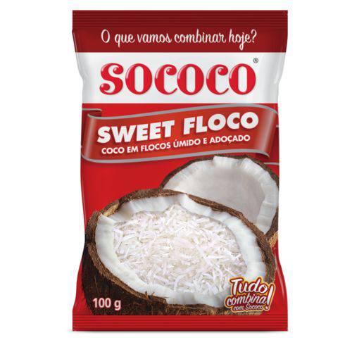 Sweet Floco 100g Kit com 24 Unidades