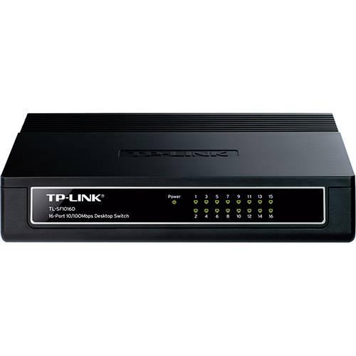 Switch 16 Portas 10/100mbps RJ45 TL-SF1016D TP-Link