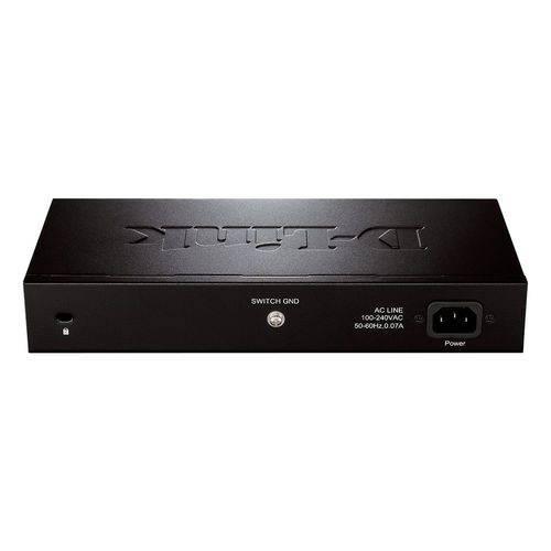 Switch 16 Portas D-Link Dgs-1016D Gigabit 10/100/1000 Mbps
