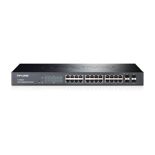 Switch 24p Tp-link T1600g-28ts Gigabit + 4 Portas Sfp