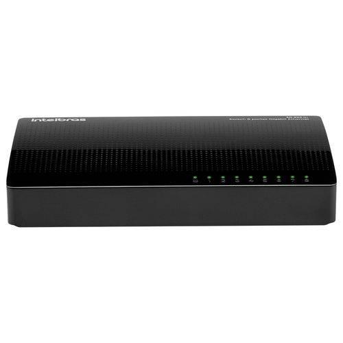 Switch 8 Portas 16 Gbps 600mA SG800 IntelBras