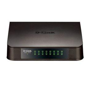 Switch D-Link 16 Portas Fast Ethernet DES-1016A