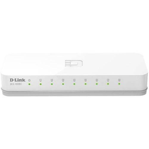 Switch D-link 8 Portas 10/100mbps - Des-1008