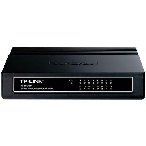 Switch de Mesa 16 Portas 10/100Mbps TL-SF1016D TP-LINK