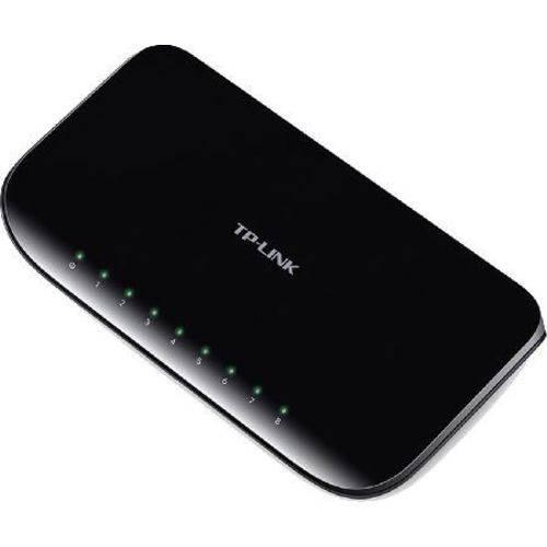 Switch de Mesa 8 Portas - Gigabit - Tl-sg1008d