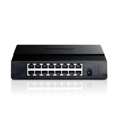 Switch de Mesa com 16 Portas 10/100mbps Tp-link Tl-sf1016d