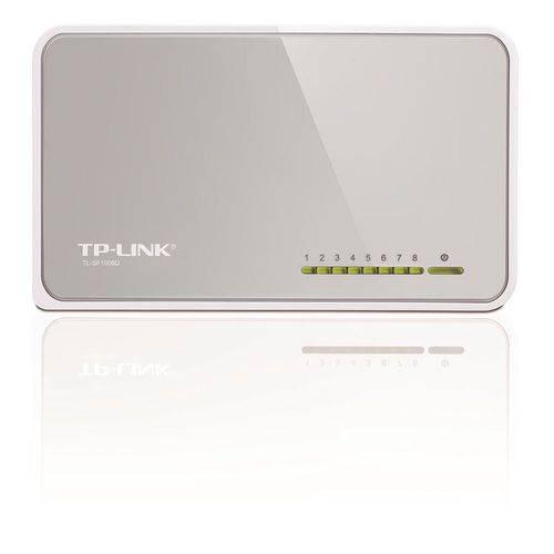 Switch de Mesa de 8 Portas 10100mbps Tp Link Itl-sf1008d Bivolt