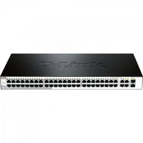 Switch Fast 52 Portas 100mbps Des-1210-52 Preto D-link