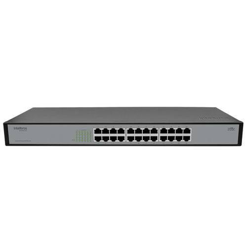 Switch Fast Intelbras Inet 4760034 Sf2400 Qr+ 24p Fast Qos Rack 10/100 Mbp