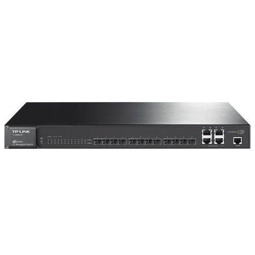 Switch Gigabit Gerenciável Tp-Link L2 Sfp 12 Portas com 4 P - Combo 1000BASE-T Jetstream Tl-SG5412F