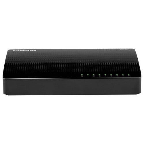 Switch Gigabit Intelbras Sg800 +q Ethernet 8 Portas 10/100/1000