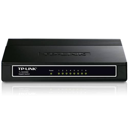 Switch Gigabit TL-SG1008D 8 Portas - TP-LINK