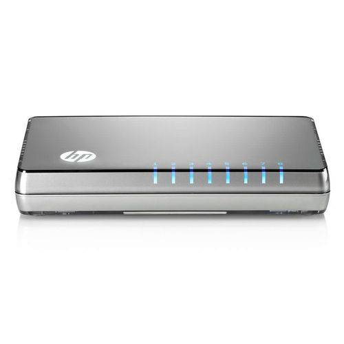 Switch Hp 8 Portas Gigabit JH408A